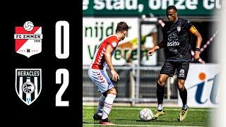 FC Emmen - Heracles Almelo | 19-08-2020 | Samenvatting