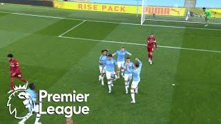 Kevin De Bruyne smashes in penalty to put Man City ahead of Liverpool | Premier League | NBC Sports