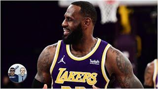 Was LeBron James trying to make an MVP statement in Hornets vs. Lakers? | Jalen & Jacoby