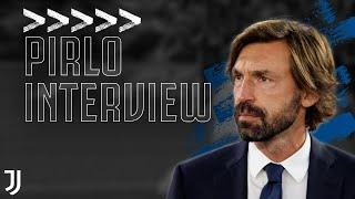 Andrea Pirlo Exclusive UEFA Interview | Coaching at Juventus, Champions League Objectives | Juventus