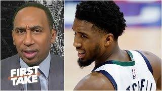 'Are you kidding me?' - Stephen A. reacts to refs ejecting Donovan Mitchell | First Take