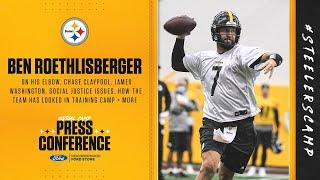 Steelers Virtual Camp Press Conference (Aug. 27): Ben Roethlisberger | 2020 Training Camp