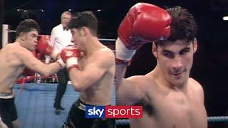 Joe Calzaghe hits a 1st round TKO in incredible professional debut | Fight Rewind