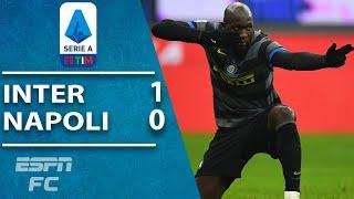 Romelu Lukaku's penalty secures crucial win for Inter Milan vs. Napoli | ESPN FC Serie A Highlights