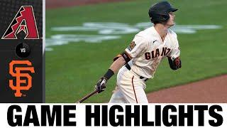 Kevin Gausman leads Giants to a 4-2 win | D-backs-Giants Game Highlights 9/7/20