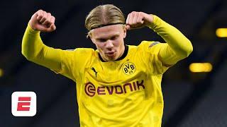 Erling Haaland is on FIRE! Are Lewandowski and Mbappe the only strikers better than him? | ESPN FC