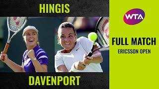 Martina Hingis vs. Lindsay Davenport | Full Match | 2000 Ericsson Open