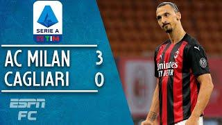Zlatan Ibrahimovic leads the way for AC Milan in victory vs. Cagliari | Serie A Highlights