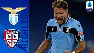 Lazio 2-1 Cagliari | Class goals from Milinkovic-Savic and Immobile give Lazio the win | Serie A TIM