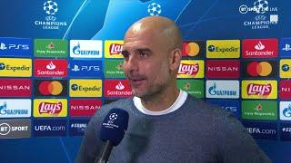 """Wow, we played really well!""  Pep Guardiola delighted by 3-0 win in Marseille"