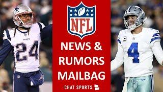 NFL Rumors: Stephon Gilmore Trade? Brady & The Bucs Making Playoffs? Dak's Contract Drama I Mailbag