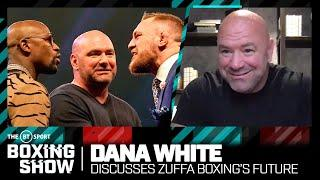 Dana White says he will have a big boxing announcement in three weeks and discusses state of boxing