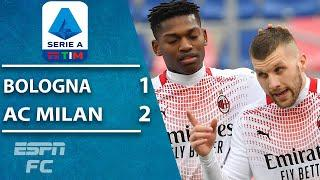 Zlatan Ibrahimovic misses penalty kick, but AC Milan beats Bologna | ESPN FC Serie A Highlights