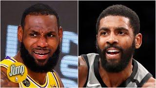Did Kyrie Irving throw shade at LeBron with his Kevin Durant 'clutch' comment? | The Jump
