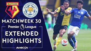 Watford v. Leicester City | PREMIER LEAGUE HIGHLIGHTS | 6/20/2020 | NBC Sports