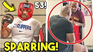 *LEAKED* MIKE TYSON SPARRING FOR BOXING COMEBACK vs HOLYFIELD! (EXHIBITION FIGHT ANALYSIS)