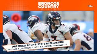 Why Drew Lock's statistics might be misleading vs. the Chargers | Broncos Country Tonight