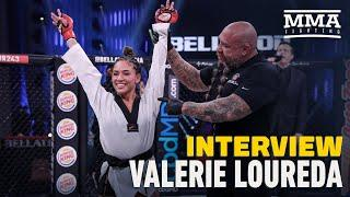 Valerie Loureda Details Difficult Road to TKO Win, Viral Celebration At Bellator 243 - MMA Fighting