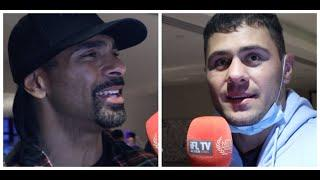 'DEEP & PENETRATIVE' -DAVID HAYE TELLS DAVE ALLEN STRAIGHT & WARNS OLEKSANDER USYK ON DERECK CHISORA