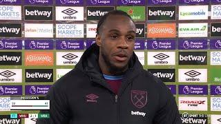 """""""This season the chemistry is so good in the squad!"""" Michail Antonio on the Hammers' latest win!"""