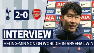 HEUNG-MIN SON ON WORLDIE GOAL IN ARSENAL WIN | Spurs 2-0 Arsenal