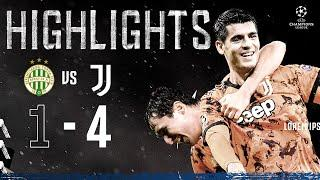 Ferencváros 1-4 Juventus   Morata Scores Double In Budapest!   Champions League Highlights