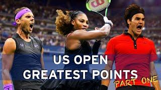 The greatest ever US Open points! | Part One