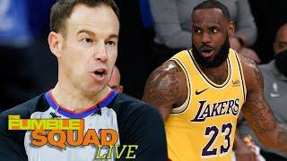 Lakers, Suns BIG MAD By NBA Referees For Being Too Soft & Ejecting Devin Booker In Primetime Game