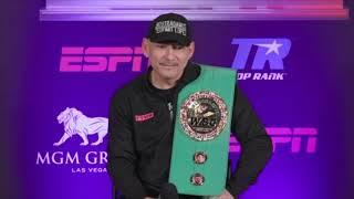TEOFIMO LOPEZ SR (FULL) POST-FIGHT PRESS CONFERENCE AS HIS SON STUNS VASYL LOMACHENKO IN LAS VEGAS