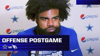 Zeke and Cooper Address The Media Following The Loss To The Arizona Cardinals | Dallas Cowboys 2020