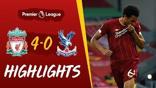 Highlights: Liverpool 4-0 Crystal Palace | Salah, Mane & two screamers at Anfield - With added crowd