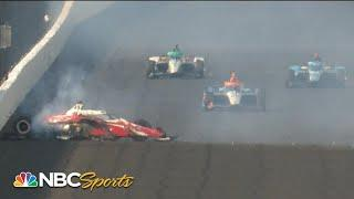 104th Indianapolis 500: Spencer Pigot withstands major impact | Motorsports on NBC