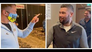 'DONT BE PICKING ON MY FRIEND!' - TONY BELLEW TELLS OLEKSANDR USYK ON DERECK CHISORA  / USYK-CHISORA