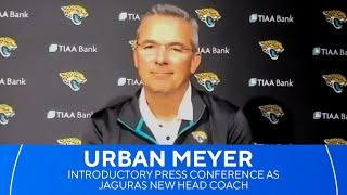 Jacksonville Jaguars introduce Urban Meyer as new head coach | CBS Sports HQ