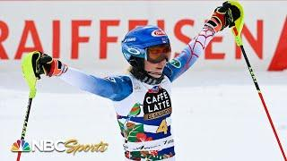 Mikaela Shiffrin places second to Alice Robinson in giant slalom World Cup Finals | NBC Sports