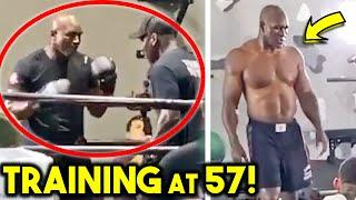 *LEAKED* EVANDER HOLYFIELD TRAINING CAMP 2020 +MUSCLE GAIN FOR MIKE TYSON MEGA BOXING COMEBACK AT 57
