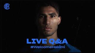 LIVE Q&A with ACHRAF HAKIMI | #WELCOMEHAKIMI | INTER 2020/21  [SUB ENG]