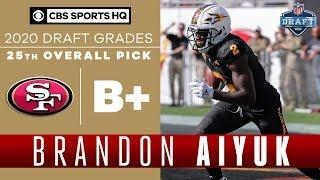 Can Brandon Aiyuk turn into a PHENOMENAL RECEIVER for the 49ers?    2020 NFL Draft