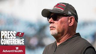 Bruce Arians on Brady's Improved Play & Steve McLendon's First Game with Bucs  | Press Conference