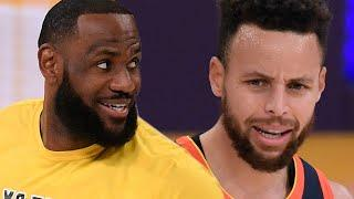 Steph Curry Shades LeBron James After Warriors Get Blown Out, Thinks Teams Are Still Seeking Revenge
