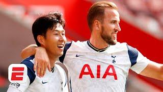 FOUR for Son and a Harry Kane MASTERCLASS as Tottenham beat Southampton | Premier League