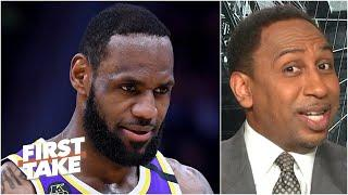 LeBron & the Lakers will be more ready than the Clippers when NBA returns - Stephen A. | First Take