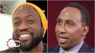 Dwyane Wade joins Stephen A. to react to the Heat's surprising playoff run | SportsCenter