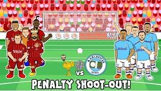4-5! Liverpool vs Man City Penalty Shoot-Out (Community Shield 2019 Parody Goals Highlights)