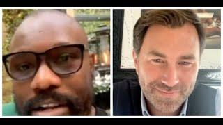 (WOW) 'I WILL FIGHT DILLIAN WHYTE ON NOV 21' - DERECK CHISORA STICKS IT ON EDDIE HEARN FOR 3RD FIGHT