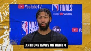 Anthony Davis on text from LeBron that Game 4 was most important of his career | 2020 NBA Finals