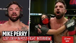 Taxes, girlfriend, haters: Mike Perry drops one of the most incredible post-fight interviews ever