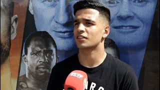 AQIB FIAZ TALKS PRAISE FROM CARL FRAMPTON & EDDIE HEARN AS HE CLASHES WITH KANE BAKER AT FIGHT CAMP