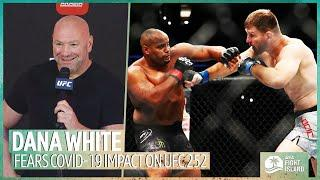 Dana White on Covid plans for Cormier v Miocic and the incredible story Mounir Lazzez' UFC debut
