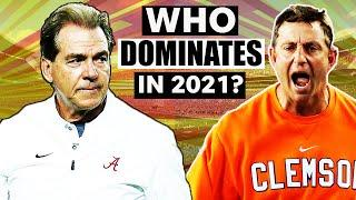 Will Alabama, Clemson and Ohio State dominate the 2021 college football season? | USA TODAY Sports